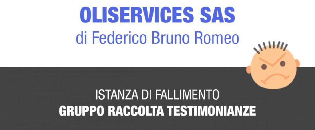 Oliservices Sas di Federico Bruno - Fallimento